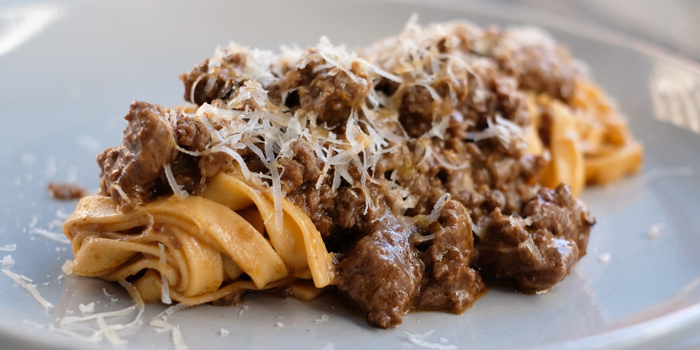 Fettuccine Beef Ragu from La Dotta Pasta Bar & Store