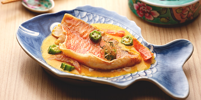 Claypot Assam Pedas Fish Head from Spice Brasserie in Little India, Singapore