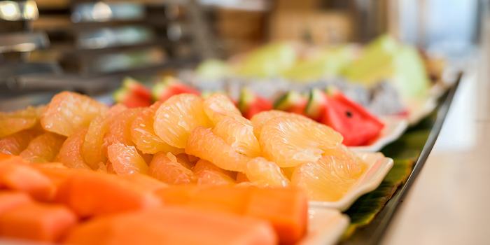 Fresh Fruit Station from Skyline at AVANI Riverside Bangkok Hotel 257 Charoennakorn Rd Thonburi, Bangkok