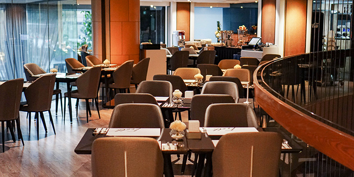 Interior of Froth in Raffles Place, Singapore