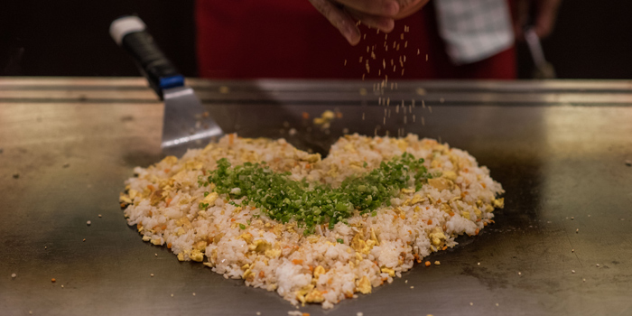Garlic Fried Rice from Benihana at AVANI Atrium Bangkok 1880 New Petchburi Rd Bangkok