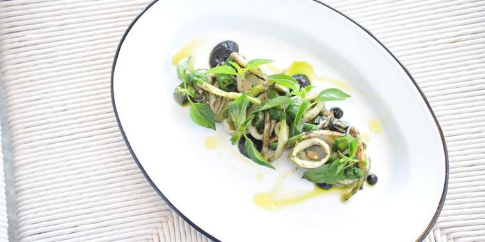 Grilled Squid at COMO Beach Club, Canggu