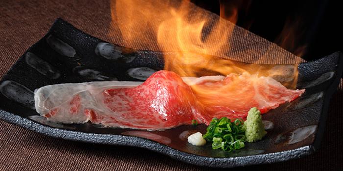 Grilled Wagyu Slice Sushi, Wagyu 88, Causeway Bay, Hong Kong