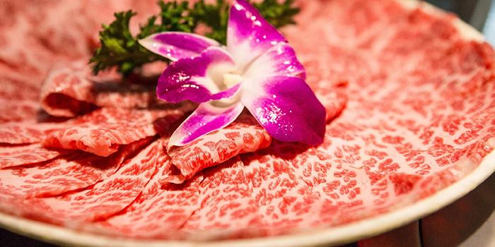 Hand Cut Beef, Yang Xian Din Hot Pot, Mong Kok, Hong Kong
