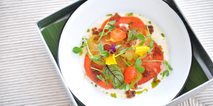 Heirloom Tomatoes at COMO Beach Club, Canggu