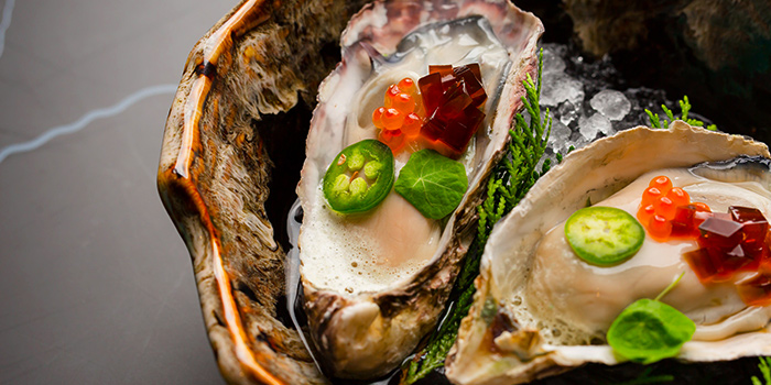 Hiroshima Oyster from Caffé B at Club Street, Singapore