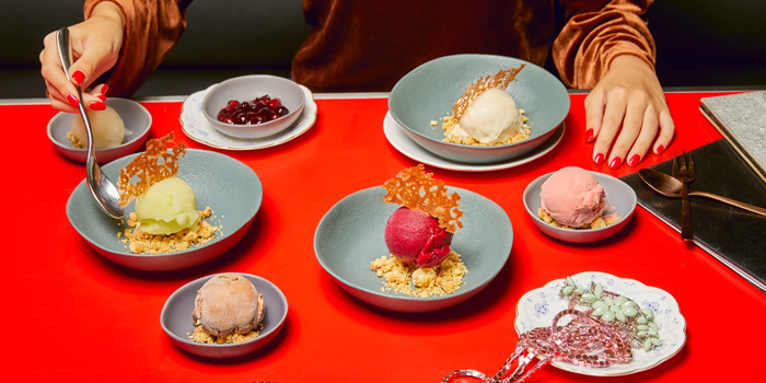 Ice Cream & Sorbet from The Kitchen Table at W Bangkok on North Sathorn Road