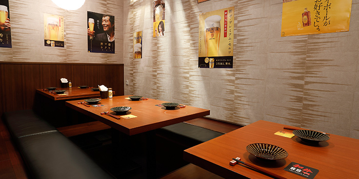 Interior, Wagyu 88, Causeway Bay, Hong Kong