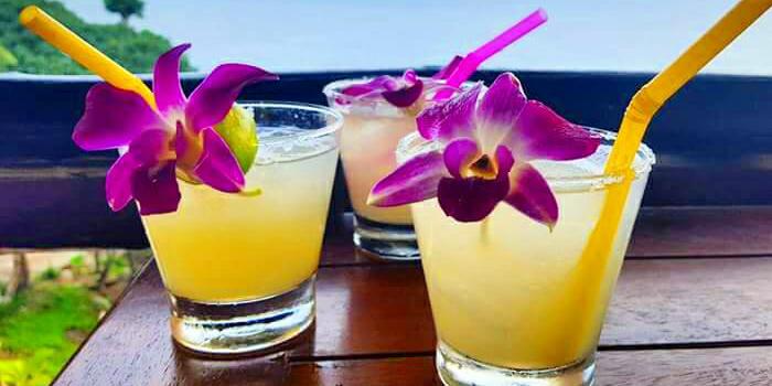 Lemon Margarita on the Rocks from Salsa Mexicana in Patong, Phuket, Thailand.