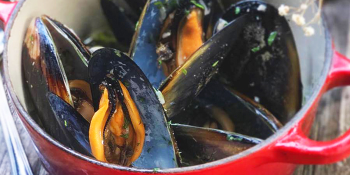 Mussels from Summer Hill in Clementi, Singapore