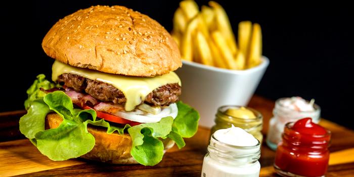 Panorama Burger from Panorama at Crowne Plaza Bangkok Lumpini Park 952 Rama IV Road Bangkok