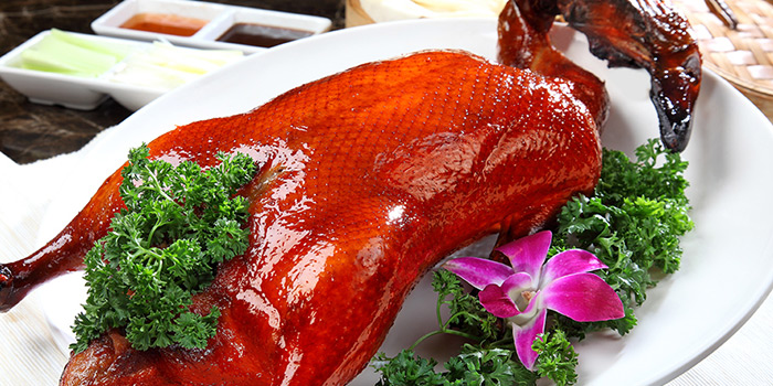 Peking Duck from Heavenly Duck 天王鸭 at E! Avenue @ Downtown East in Paris Ris, Singapore