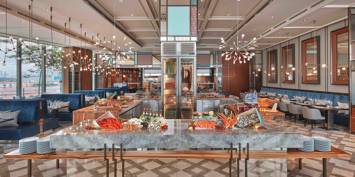 Magnifique Brunch Buffet from Racines at Sofitel in Tanjong Pagar, Singapore