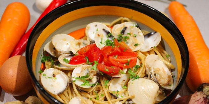 Clam Pasta from G Bar & Grill at Apex @ Henderson in Bukit Merah, Singapore