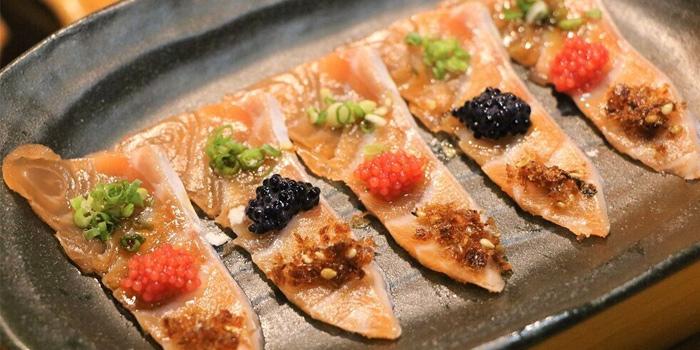 Salmon Carpaccio from Southpaw Bar & Sushi in Jalan Besar, Singapore