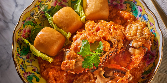 Chilli Crab from The Lobby Lounge at Shangri-La Hotel in Tanglin, Singapore