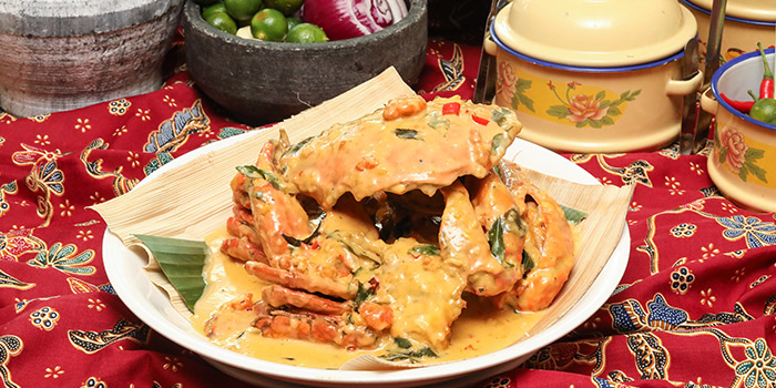 Salted Egg Crab from Spice Brasserie in Little India, Singapore