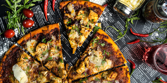 Sambal Chicken Pizza from Equilibrium (by Supply & Demand) at Capitol Piazza in City Hall, Singapore