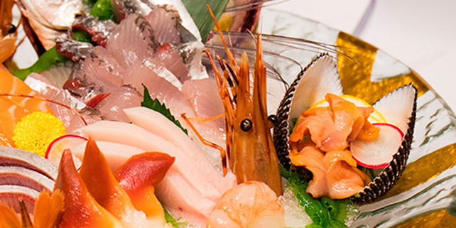 Sashimi, Gald Way Japanese Restaurant, Causeway Bay, Hong Kong