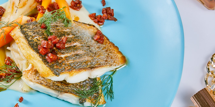 Seared Seabream from The Kitchen Table at W Bangkok on North Sathorn Road