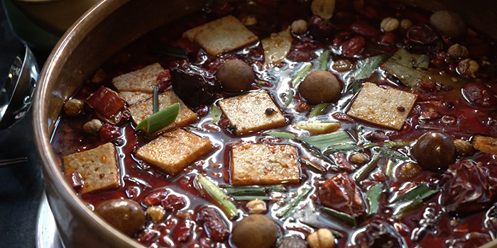 Spicy Hotpot, Yang Xian Din Hot Pot, Mong Kok, Hong Kong