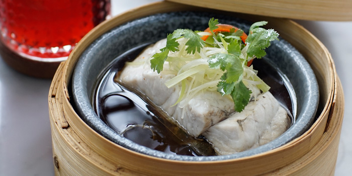Steamed Superior Fish at Khung, Plaza Indonesia