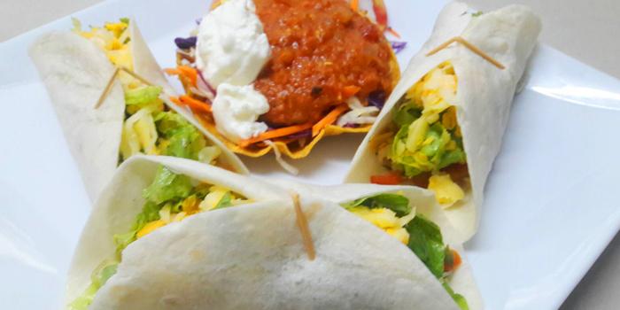 Tacos from Salsa Mexicana in Patong, Phuket, Thailand.