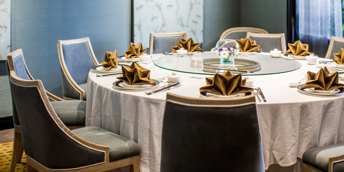 The Private Room from Xin Tian Di at Crowne Plaza Bangkok Lumpini Park 952 Rama IV Road Bangkok