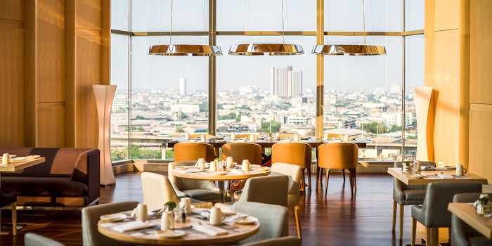 The View from Skyline at AVANI Riverside Bangkok Hotel 257 Charoennakorn Rd Thonburi, Bangkok