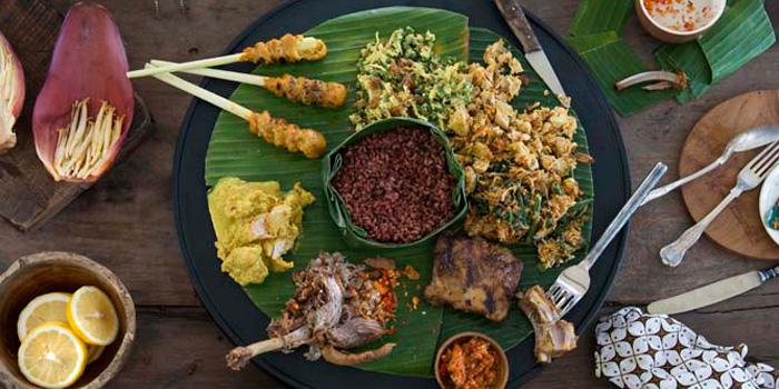 Dish 2 from The Warung, Alila Villas Uluwatu