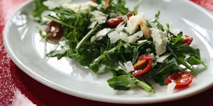 Arugula Parmesan Salad from Winederlust in Little India, Singapore