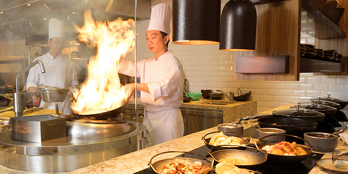 Wok Fry Station, Big Bay Cafe, Hung Hom, Hong Kong