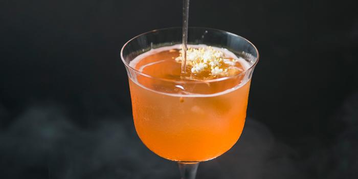 Cocktail from BLANCO Par Mandif in Ubud, Bali