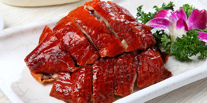 Crispy Roasted Duck from Heavenly Duck 天王鸭 at E! Avenue @ Downtown East in Paris Ris, Singapore