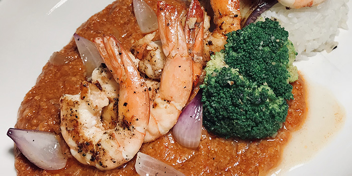 Prawn from Mad About Sucre in Chinatown, Singapore