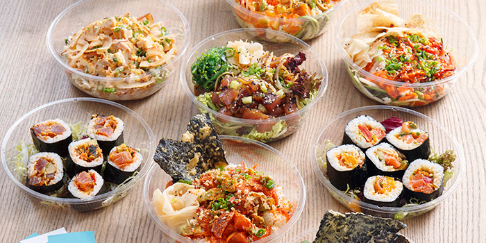 Selection, The Poke Co., Wan Chai, Hong Kong
