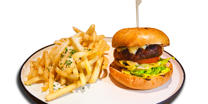 63Wagyu Hamburger with Truffle Burger from 63Celsius (Paragon) in Orchard Road, Singapore