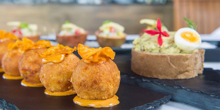 Appetizer from  Paresa Dining in Kamala, Phuket, Thailand.