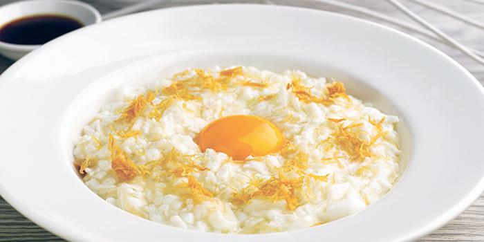 Sauteed Egg White Conpoy & Fish Meat from Crystal Jade Jiang Nan (Toa Payoh) at HDB Hub in Toa Payoh, Singapore