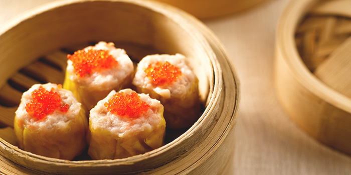 Steamed Siew Mai with Crab Roe from Crystal Jade Kitchen (Suntec City) at Suntec City Mall in Promenade, Singapore