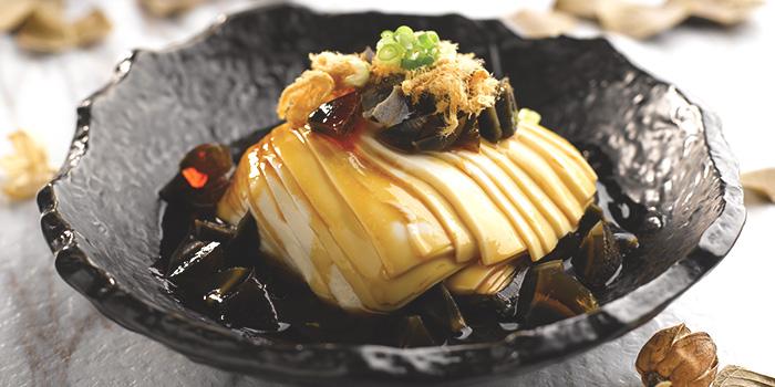 Chilled Beancurd with Preserved Egg & Pork Floss from Crystal Jade La Mian Xiao Long Bao (Takashimaya) at Takashimaya Shopping Centre in Orchard, Singapore