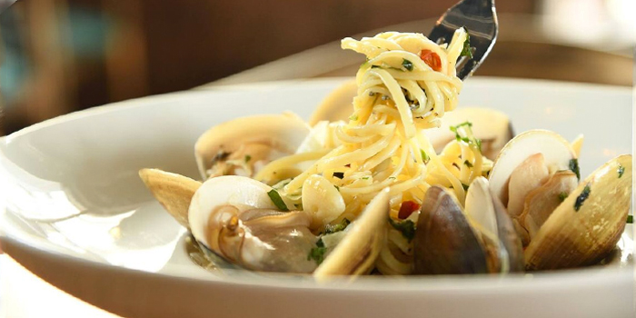 Clam Linguine, Uncle Pizza, Pasta & Grill, Central, Hong Kong