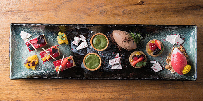 Dessert, CÉ LA VI Restaurant Hong Kong, Lan Kwai Fong, Hong Kong
