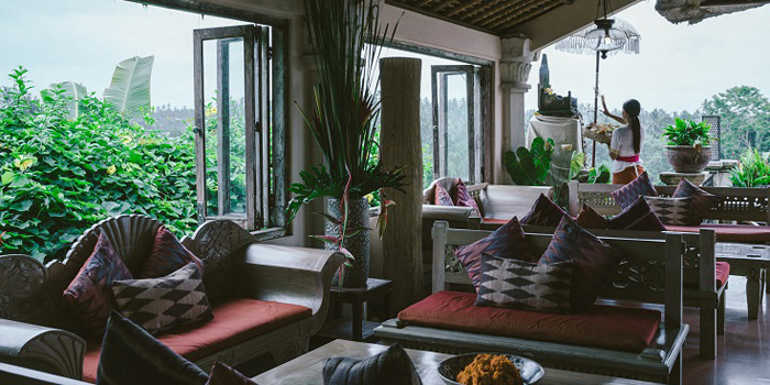 Interior 1 at Indus Restaurant, Bali