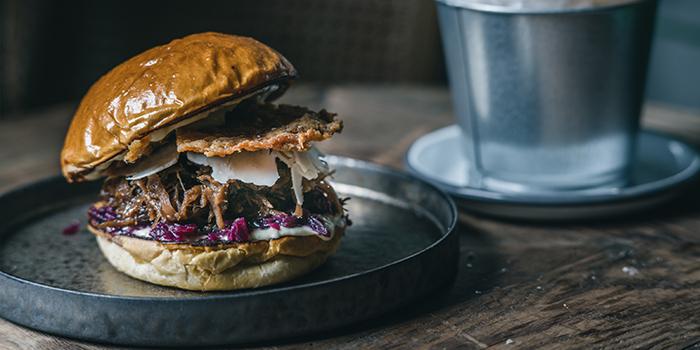 Meat Burger, Blue Supreme, Sheung Wan, Hong Kong