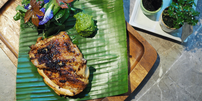 BBQ Spring Chicken from Open Farm Community in Dempsey, Singapore