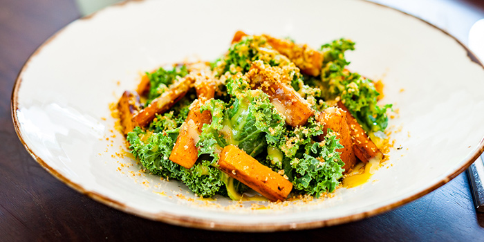 Sweet Potato & Kale Salad from PORTA in Park Hotel Clarke Quay in Robertson Quay, Singapore