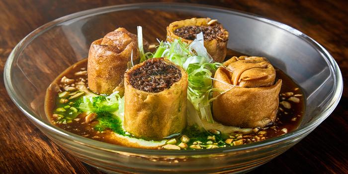 Beef Cheek Roll from Broken Eggs Gastro Bar at Ekamai Road Sukhunvit 63, Klongtan Nuea Wattana, Bangkok