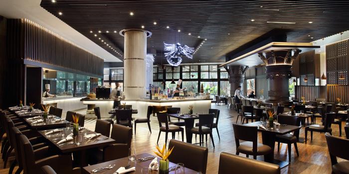 Interior 1 at Rasa Restaurant, Jakarta