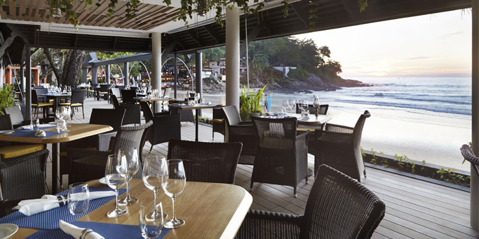 Restaurant Ambiance of The Boathouse in Kata Beach, Muang Phuket, Thailand